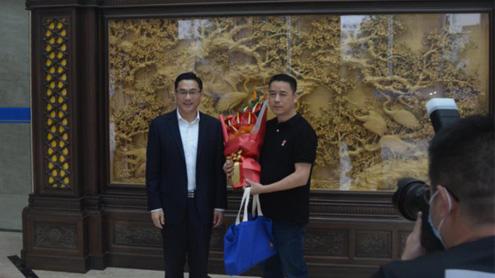 温州市秘书长王军及乐清市委书记方晖莅临来访